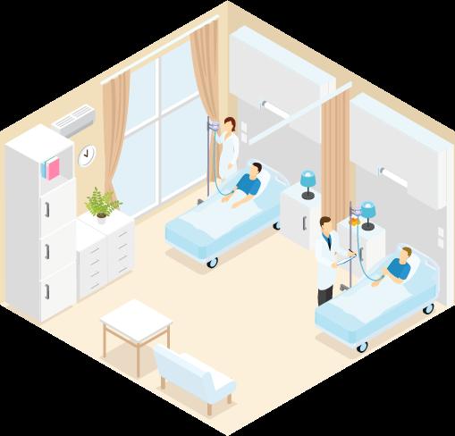 入院のご案内のイメージ画像